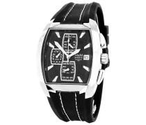Herren-Armbanduhr Chronograph Quarz Kautschuk M11681-645