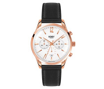 Unisex-Armbanduhr Richmond Chronograph Quarz Leder HL39-CS-0036