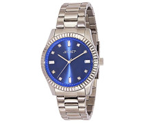 Cool 59774-332-J Damen-Armbanduhr Alyce Quarz analog Armband Stahl silberfarben/Blau