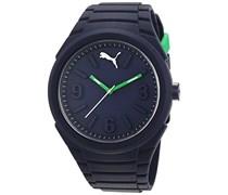 Puma Time Damen-Armbanduhr PU-GUMMY NIGHT BLUE Analog Quarz Silikon PU103592006