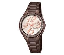 watches Damen-Armbanduhr K5637 Analog Quarz Plastik K5637/8