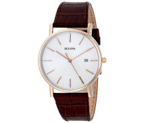 Bulova Herren-Armbanduhr Dress Analog Quarz 98H51