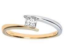 Damen-Ring 375 Weißgold 9 K Diamant PR05478YW-J