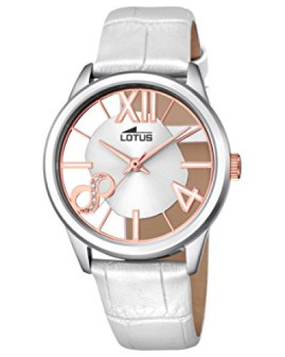 Damen-Armbanduhr Analog Quarz Leder 18305/1