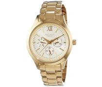 Damen-Armbanduhr Analog Quarz Edelstahl beschichtet 12210910