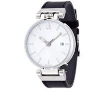 Calvin Klein Herren-Armbanduhr Analog Quarz Edelstahl K4A211C6