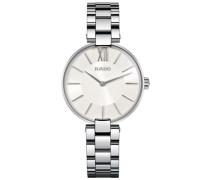 Rado Damen-Armbanduhr XS Analog Quarz Edelstahl 278.3850.4.001