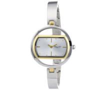 Regent Damen-Armbanduhr XS Analog Quarz Edelstahl 12230587