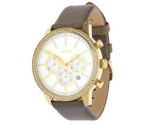 ! Damen-Armbanduhr JACKIE Chronograph Quarz Leder JP101712002
