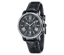 Unisex-Armbanduhr Chronograph Quarz ES-0016-07 Dark Grey