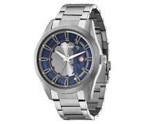 Police Vista Herren-Armbanduhr Analog Quarz Edelstahl beschichtet - PL.94387AEU/03M