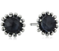 Damen-Ohrstecker 925 Silber Kristall blau - 290561NBC