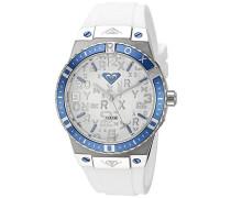Damen-Armbanduhr The Bliss Analog Silikon Weiß RX/1005SVDB