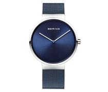 Unisex-Armbanduhr Analog Quarz Edelstahl beschichtet 14539-307