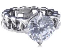 Damen-Ring Messing Betty III ss crystal