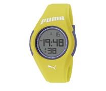 Puma PU911191005Unisex-Armbanduhr, Kunststoff, Gelb