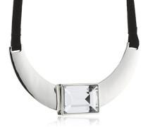 Damen Halskette Versilbertes Metall Kristall Glaskristall 336111