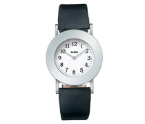 Unisex-Armbanduhr Analog Automatik Leder schwarz AL4000