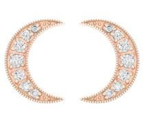 -  18 k (750)  Roségold Rundschliff   weiß Diamant