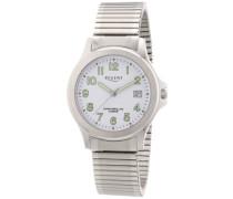 Regent Herren-Armbanduhr XL Analog Quarz Edelstahl 11310048
