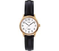 Damen-Armbanduhr Weiß Analog Leder T20433D7