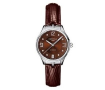 Damen-Armbanduhr XS Analog Quarz Leder C021.210.16.296.00
