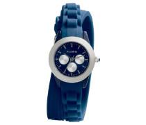 Damen-Armbanduhr XS Analog Quarz Kautschuk 701346204