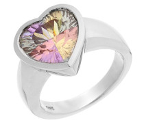 Damen-Ring Rainbow Collection 925 Sterlingsilber Multicolor Zirkonia 58 (18.5) CC-22/58