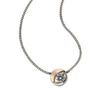 Damen Halskette 925 Sterling Silber Zirkonia weiß 500244752