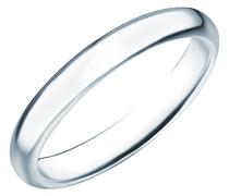 Damen-Stapelring 925 Silber rhodiniert