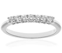 Damen-Ring 18 Karat (750) Weißgold Diamant