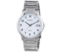 Regent Herren-Armbanduhr XL Analog Quarz Edelstahl 11150579