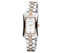 Damen-Armbanduhr Analog Quarz Edelstahl OR53371012