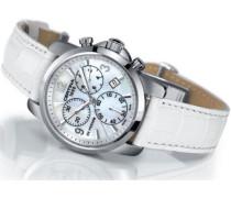 Damen-Armbanduhr XS  DS Podium Lady Chronograph Leder C001.217.16.117.00