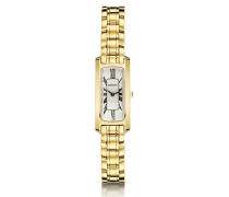 Michel Herbelin Damen-Armbanduhr Escapade Analog Gold 1064/BP08