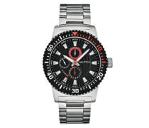 Herren-Armbanduhr XL Analog Quarz Edelstahl A18680G