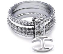 Damen-Ring Coin Edelstahl