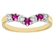 Damen-Ring Bicolor