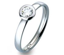 -Ehe, Verlobungs & Partnerringe Diamant Ringgröße 54 (17.2) - ORB51662/54