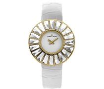 La Passion Damen-Armbanduhr XS Flora Analog Leder 1-1639D