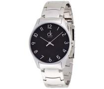 Calvin Klein Herren-Armbanduhr Analog Quarz Edelstahl K4D2114X