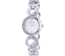 Damen-Armbanduhr Analog silber 102M621
