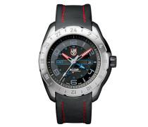 XCOR Aerospace Herren-Armbanduhr Analog Quarz Leder - XU.5127