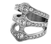 Damen-Ring Cocktail ROBINIA III SS CRYSTAL