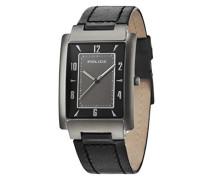 Police Herren-Armbanduhr Analog Quarz Leder 10231MSU/61