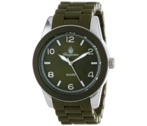 Damen-Armbanduhr XL Avalon Analog Quarz Silikon BM902-190B