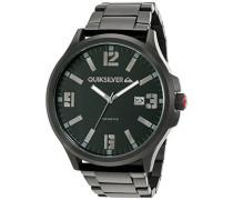 Quiksilver Herren-Armbanduhr The  Beulka Analog Edelstahl Schwarz QS/1002BKTI