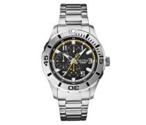 Herren-Armbanduhr XL Analog Quarz Edelstahl A15099G