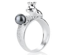 Damen- Ring Froggy 925 Sterlingsilber LD FG 12 PW- G