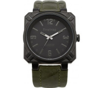 Firetrap Herren-Armbanduhr Full Metal Jacket Analog nylon grün FT1076KH